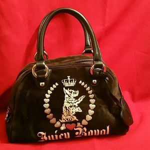 Juicy Couture  Bowling Bag Purse